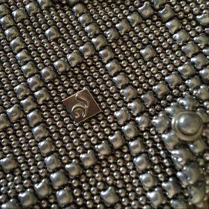 Liquid Metal Bags - Liquid Silver Mesh Mini Bag
